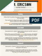 Assessment Procedures Updated