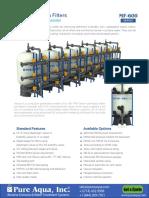 Industrial Frp Tank Water Media Filter