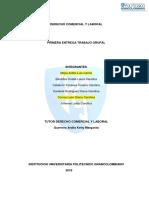 Derecho Laboral - Primera Entrega Politecnico