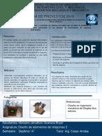 Modelo Afiche Proyecto Diseño