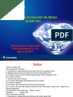 Material de Capacidacion de Foton Ollin Motor 493&491