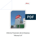 Diagnóstico Financiero de La Empresa Alicorp 2.0