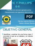 Debate y Philips 6-6, Definitivo[1]