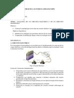 Analogia Entre El Circuito Electrico y Magnetico 1