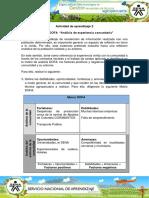 Evidencia 9 Matriz DOFA