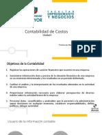 Clase Unidad 1 Contabilidad de Costos i Mspd
