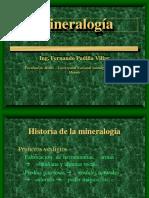 Clase 1 de mineralogía.
