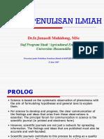 Etika Penulisan Ilmiah (14 Slides)
