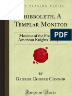 Shibboleth a Templar Monitor - 9781606802649