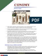Current Affairs for IAS Exam 2011 Economi Affairs October 2010 Www.upscportal