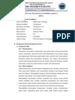 RPP 1 Proporsi Tubuh