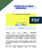 376139911 Estructura de La Tabla Periodica