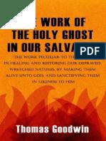 La obra de Espíritu Santo