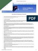 Minor Behavior Modifications to Boost IQ