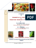 Fundamentals of Horticulture and Production Technology of Fruit Crops
