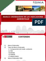 MARCO ORDENADOR DE LOS INDICADORES AMBIENTALES