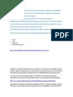 Foro General Escenario 1 y 2-Indicadores Financieros Gerencia