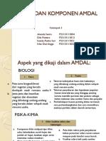 Komponen AMDAL