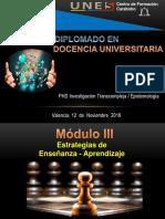 Diplomado en Docencia Universitaria Tercer Eje Segundo Encuentro
