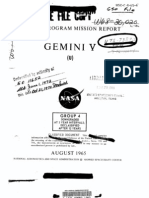 Gemini Program Mission Report, Gemini 5