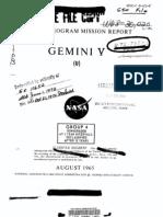 Gemini Program Mission Report, Gemini 5