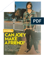 Can Joey Make a Friend