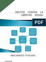 DELITOS CONTRA LA LIBERTAD SEXUAL