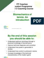 ITF Level 2 Introduction Biomechanics