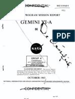 Gemini Program Mission Report Gemini Vi-A Oct 1965