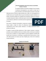 Técnica de Filtración Por Membrana Para Detección de Coliformes Totales y Fecales