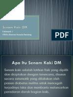 Senam Kaki DM