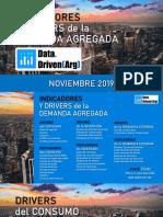 Data Driven Argentina - Indicadores y Drivers de La Demanda Agregada - Noviembre 2019