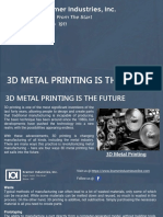 3d Metal Printing is the Future