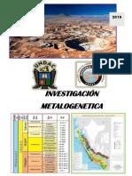 metalogenesis del terciario