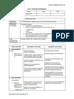 Lsson Plan 8.1 Lctromagntism Form5