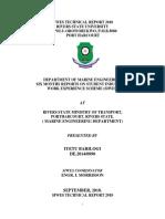 Iyetu Barilogi Ministry of Transport Printed
