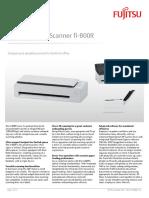 Fujitsu Datasheet Fi-800R Final 01 Secure