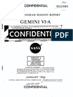 Gemini Program Mission Report Gemini Vi-A Jan 1966