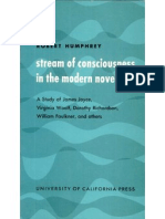 Stream of Consciousness in the Modern Novel