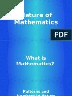 1 Nature of Mathematics