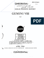 Gemini Program Mission Report Gemini Viii