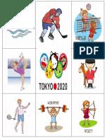 Bingo  En Inglés Tablero