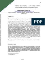 Parametric Design Procedures