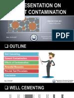 Cement Contamination