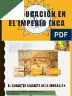 La Educación en El Imperio Inca
