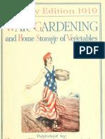 war gardening