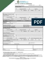 8. Formulario Licencia Comercial