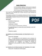 Caso Práctico - CASO DE GESTION