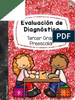 Evaluacion Diagnostica Tercero Preescolar