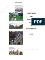 Investment Industrial Policy West Bengal 2013